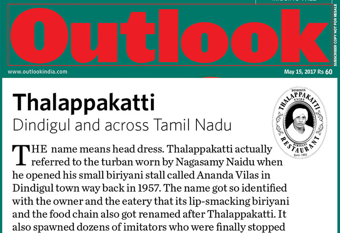 Thalappakatti-Outlook