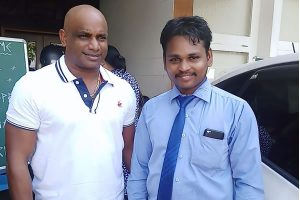 Cricketer Jayasuriya
