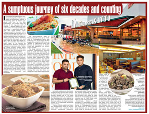 A Sumptuous Journey of Six Decades and Counting