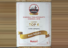 Best Biriyani by Burrp