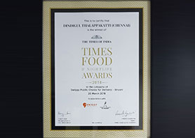 Best Delivery in Chennai by Times Food Awards