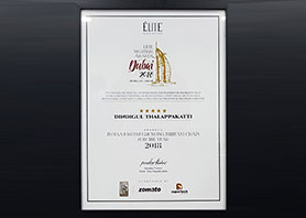 Indias Fastest Growing Biriyani Chain Elite Awards Dubai