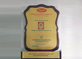 Sriram Best Industry Award for Non Veg Hotel