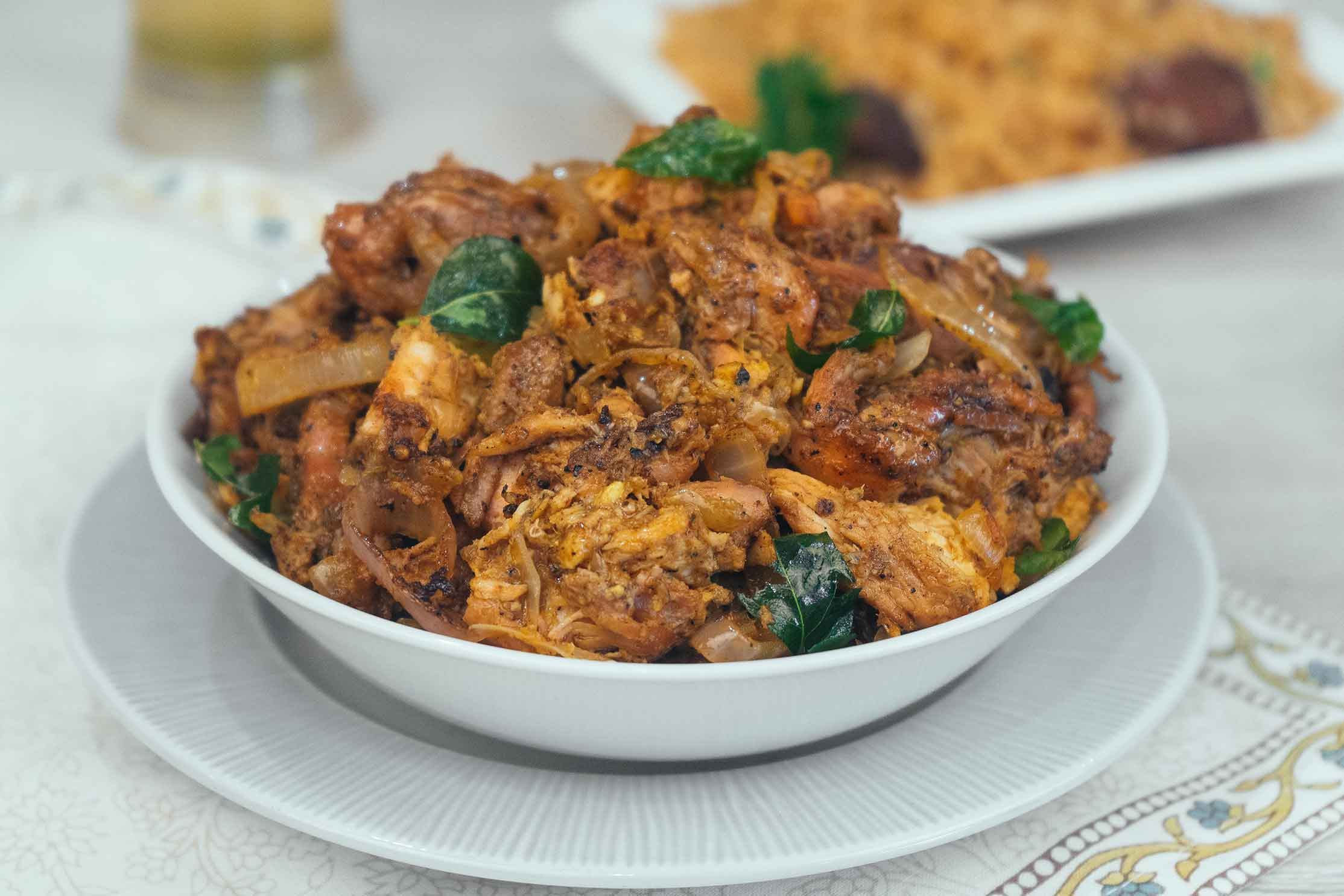 Chicken Idicha Varuval