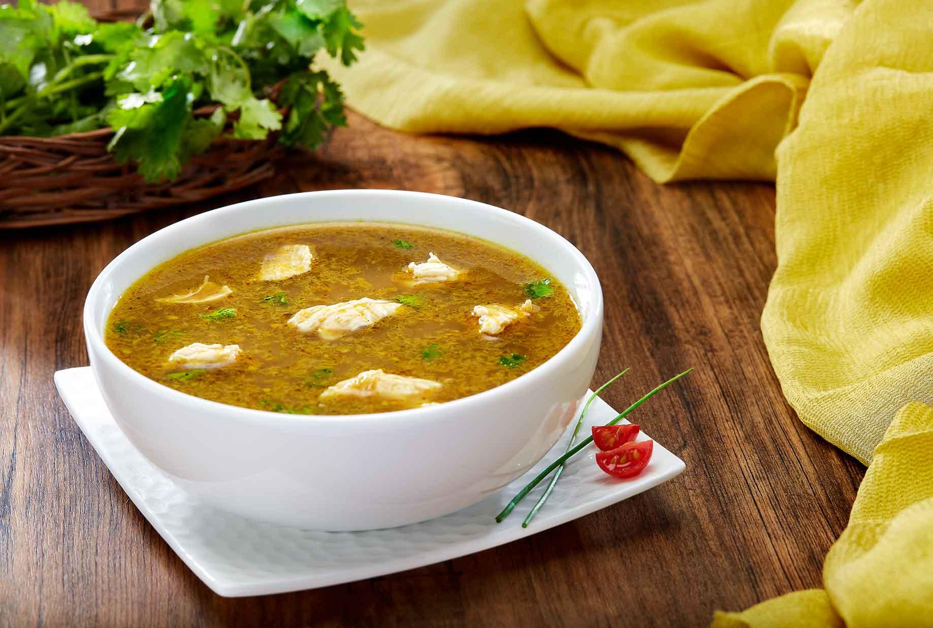 Milau Soup Chicken and Mutton