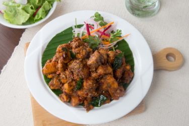 Chicken Varutha Curry