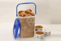 Bucket with Chicken Biriyani
